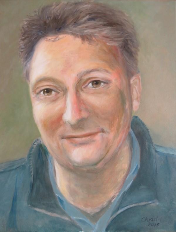 René (2015) - acryl op canvas, 40 x 50 cm (privé collectie)